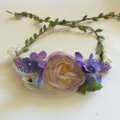 Lovely lilac wreath