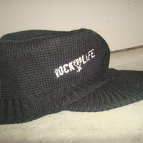"""Rock For Life"" Beanie w/ Bill"