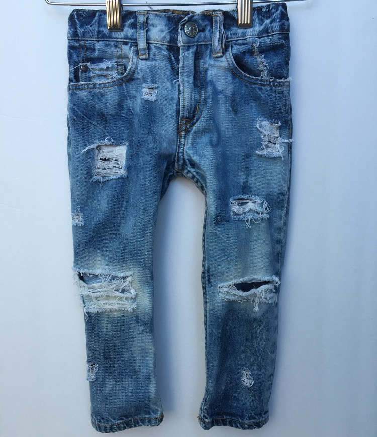 U0026quot;Cruisinu0026#39; for a Bruisinu0026#39;u0026quot; Custom Distressed Denim Skinny Jeans -Boys Girls Baby Destroyed Jeans ...