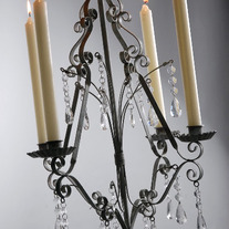 Shabby Chic Chandeliers for your Wedding or Home Decor