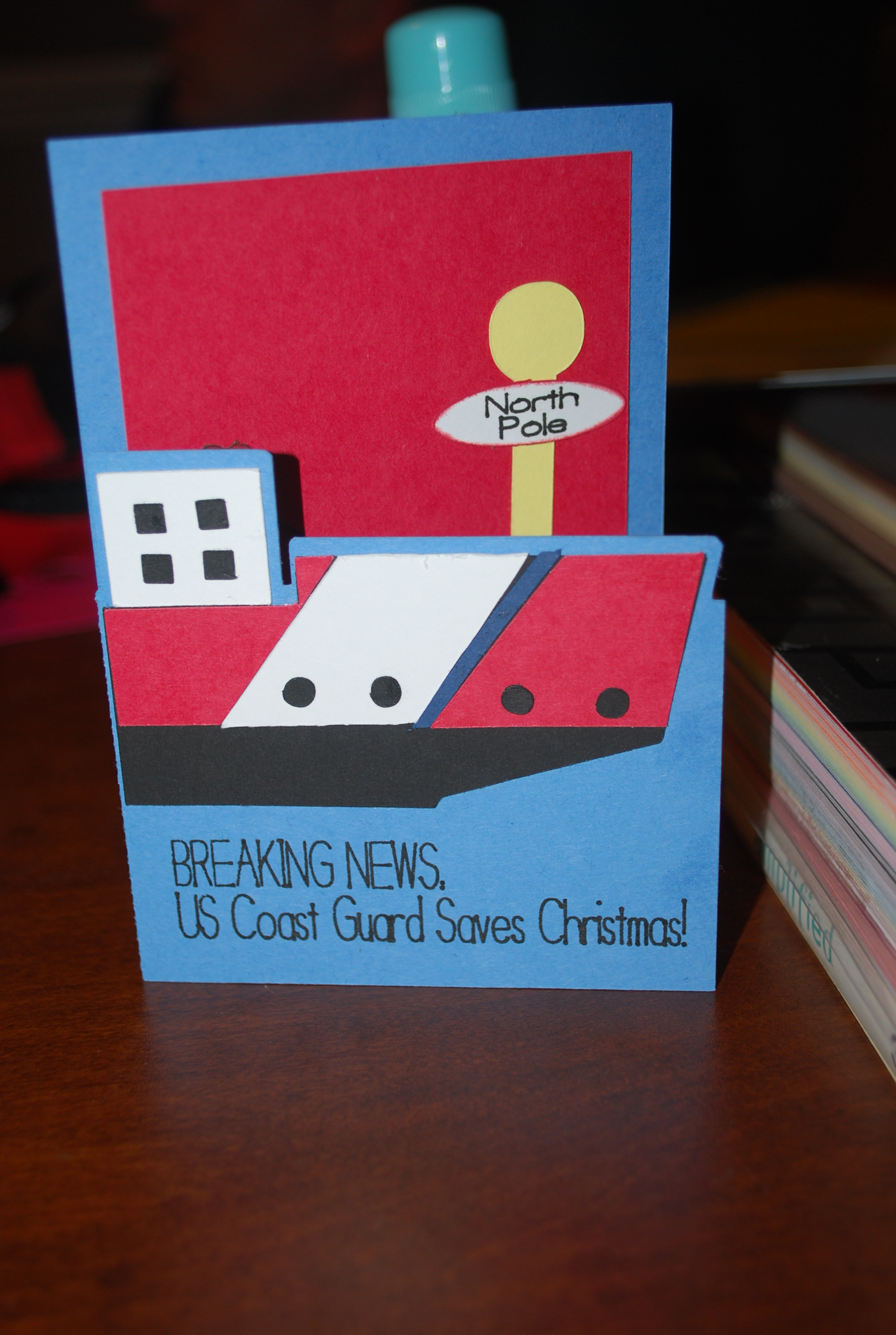 Bella Papier By Christy Uscg Christmas Card Online Store Powered By Storenvy