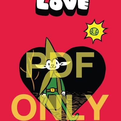 Elf cat in love digital pdf by james kochalka