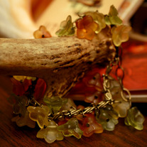 Autumn Bells Loose Bangle Bracelet