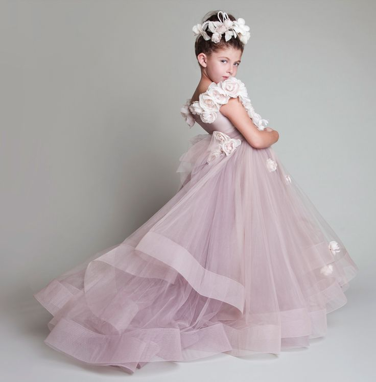 New Pretty Flower Girl Dresses For Weddings 2016 Flower Girl