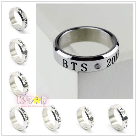 Bts ring k star online store powered by storenvy for Do pawn shops buy stainless steel jewelry