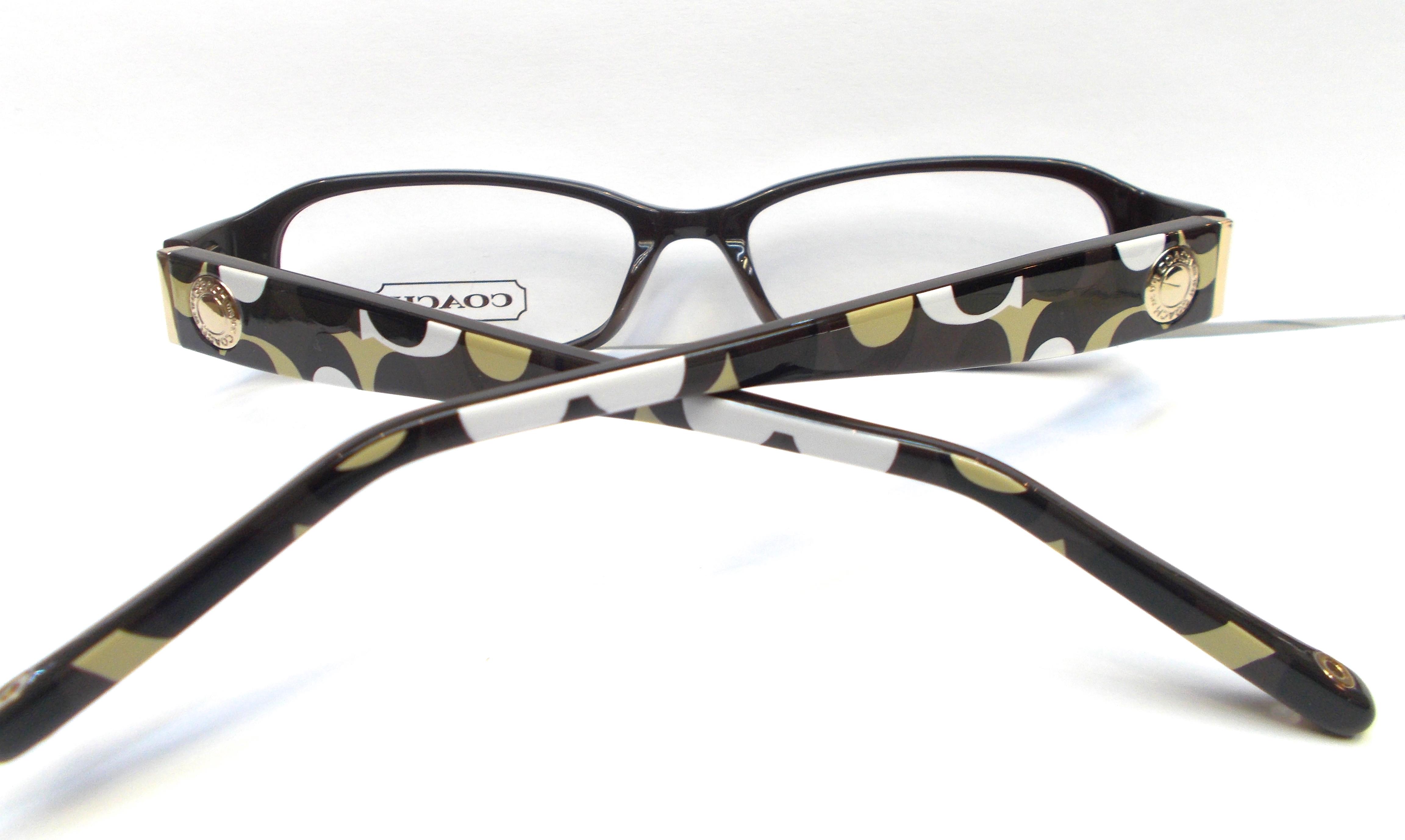 Coach Eyewear Roberta  843  Brown - Thumbnail 2Coach Prescription Glasses