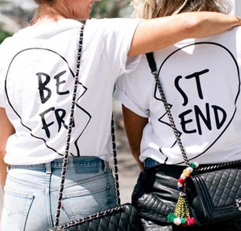 Best friend t shirt set fashion struck online store for T shirt printing chandler az