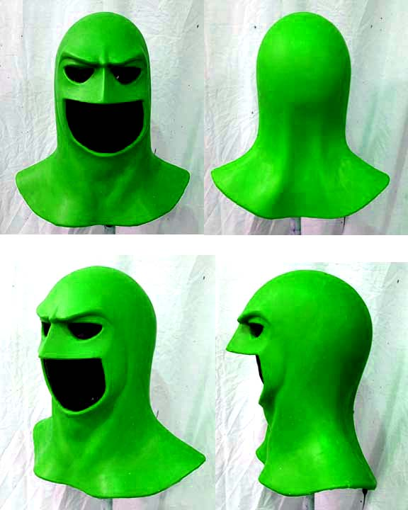 generic cowl space ghost style urethane thumbnail - Space Ghost Halloween Costume