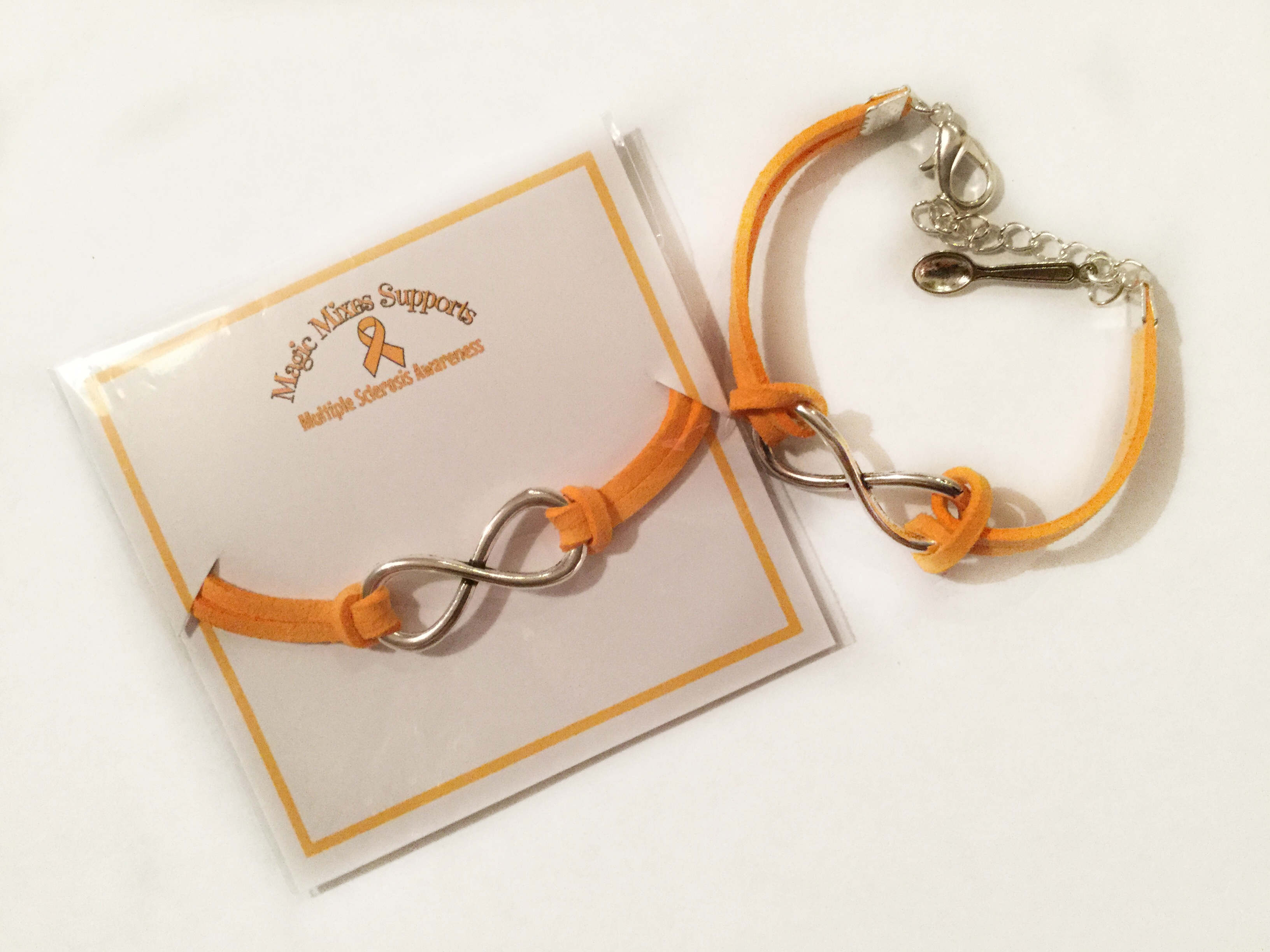 and bears awareness ribbon pin orange plush leukemia bracelet
