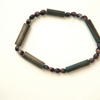 Bamboo and Church Seed Bracelet