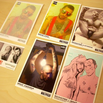 Sdp wolfpack! trading cards [pack 1]