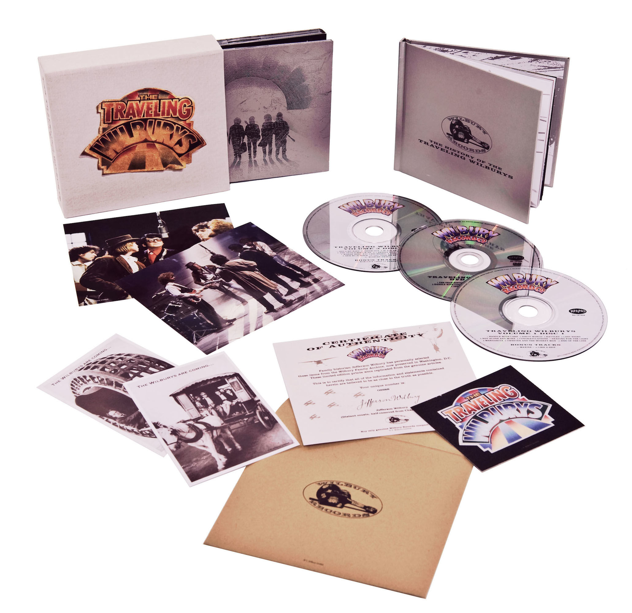 Traveling Wilburys Collection Deluxe Edition 183 Roy