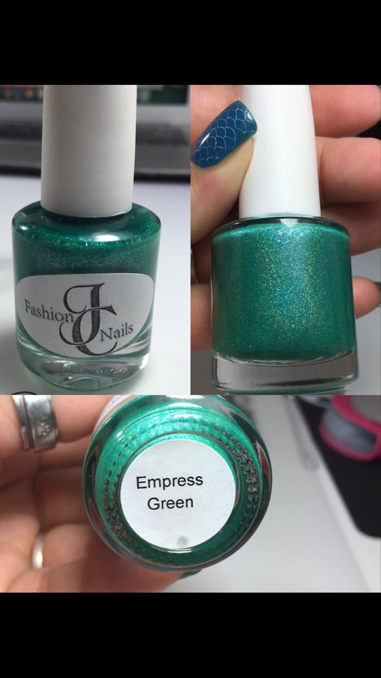 Empress Green - JC Fashion Nails · Nail Polish Destash · Online ...