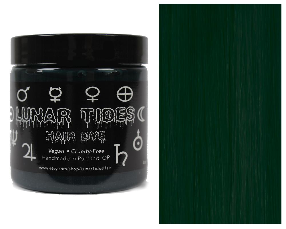 Dark Forrest Green Hair Dye Lunar Tides Hair Online Store