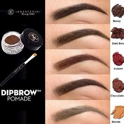 anastasia dipbrow chocolate