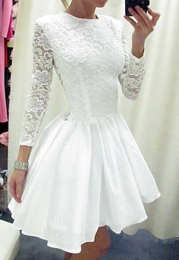 Solo Dress White Homecoming Dress,Short Prom Gown,Tulle Homecoming ...