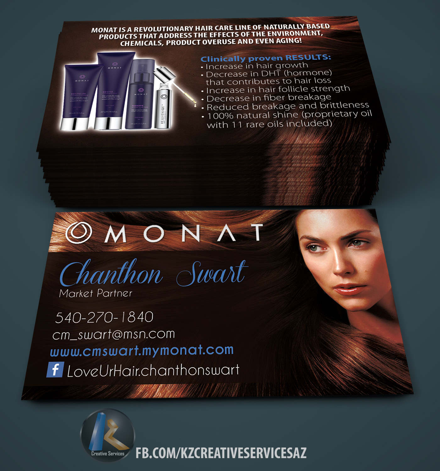 Monat business cards style 1 kz creative services online store monat business cards style 1 reheart Image collections
