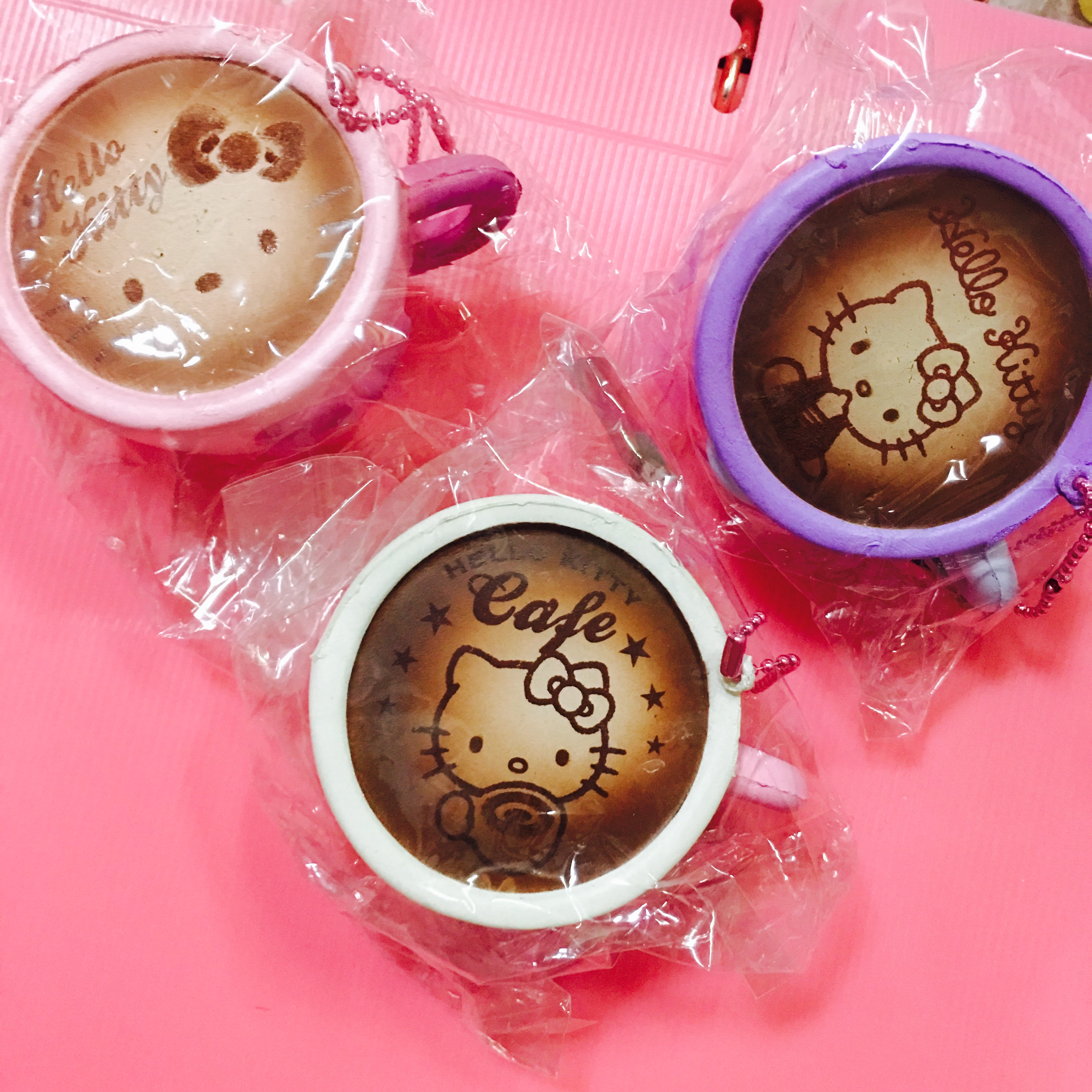 ~SquishyStuff~ Sanrio Hello Kitty Coffee Cup Squishy Mascot Online Store Powered by Storenvy