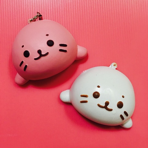 ~SquishyStuff~ Cute Adorable Seal Squishy Bun Online Store Powered by Storenvy