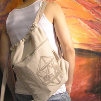 Icosahedron Canvas Bag medium photo