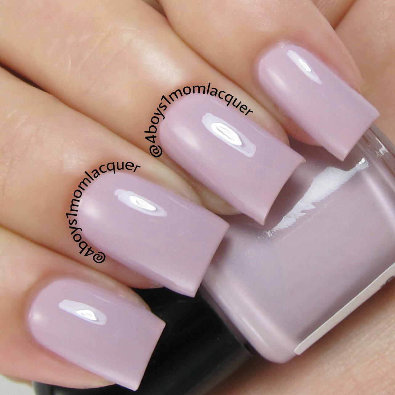 First Light - Pink Purple Mauve Nail Polish · Spellbound Nails ...
