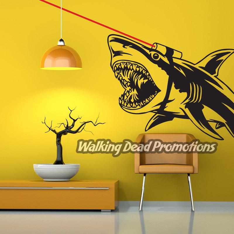 Fine Shark Wall Art Illustration - Wall Art Collections ...