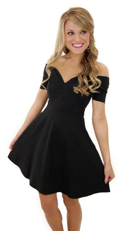 Modest Prom Dressshort Off The Shoulder Prom Gown Sexy Black