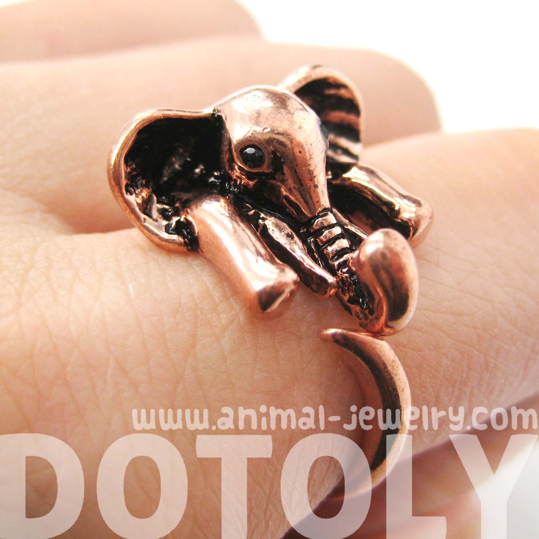 Copper Allergy Ring
