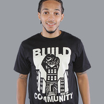 The Build Community Mens Tee