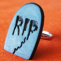 Gravestone Adjustable Ring