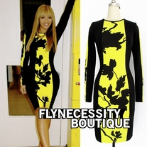 BEYONCE INSPIRED celeb style bodycon dress
