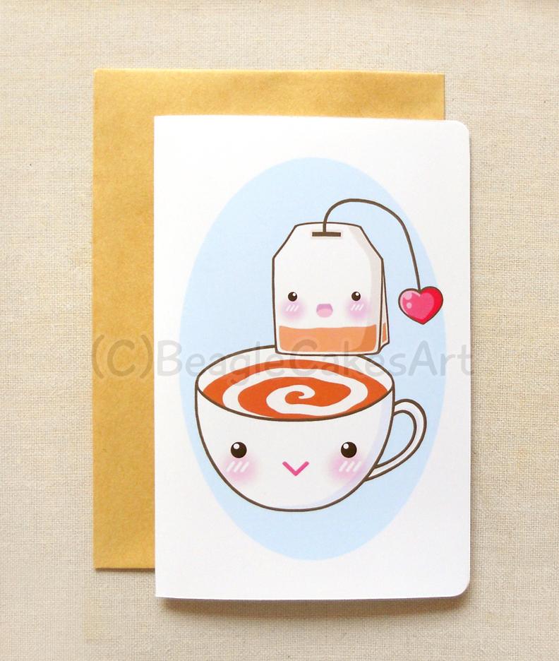 Afternoon Tea Time Invitation 4\