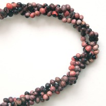 Long Multi-Strand Churchseed Necklace