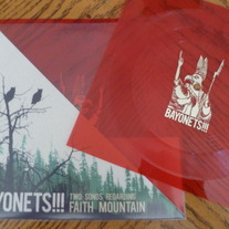 Bayonets!!! - Two Songs Regarding Faith Mountain flexi