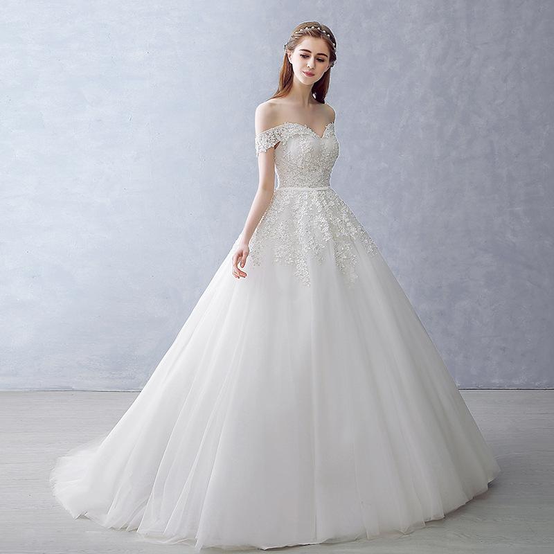 W5 Vestido De Noiva Wholesale 2016 Bride Married Sexy White Lace - Sexy White Wedding Dress