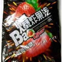 Bao Sour & Sweet Fizzy Strawberry Hard Candy 375g bag by Chaoan Hongyuan Foods