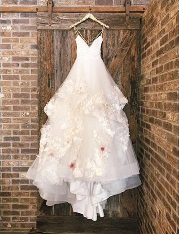 New Arrival rustic Wedding Dress ball gown princess Bridal Gowns ...
