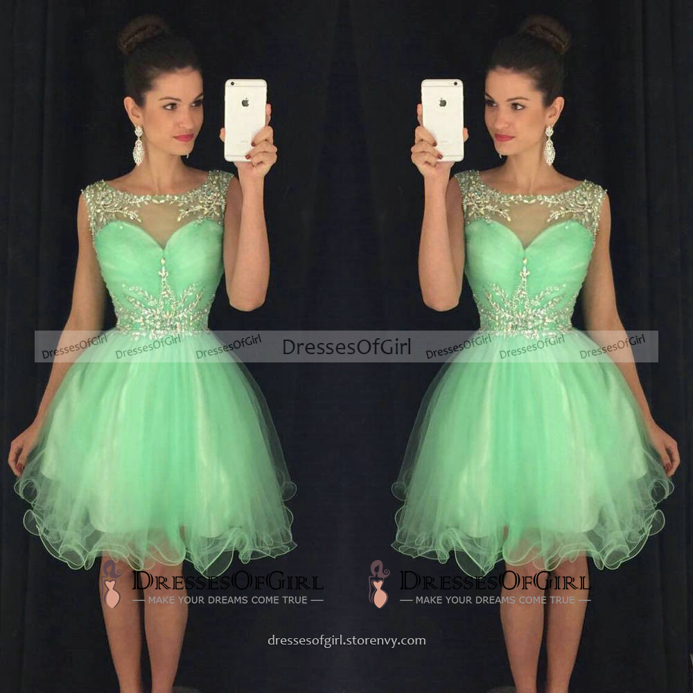 yellow short prom dresses