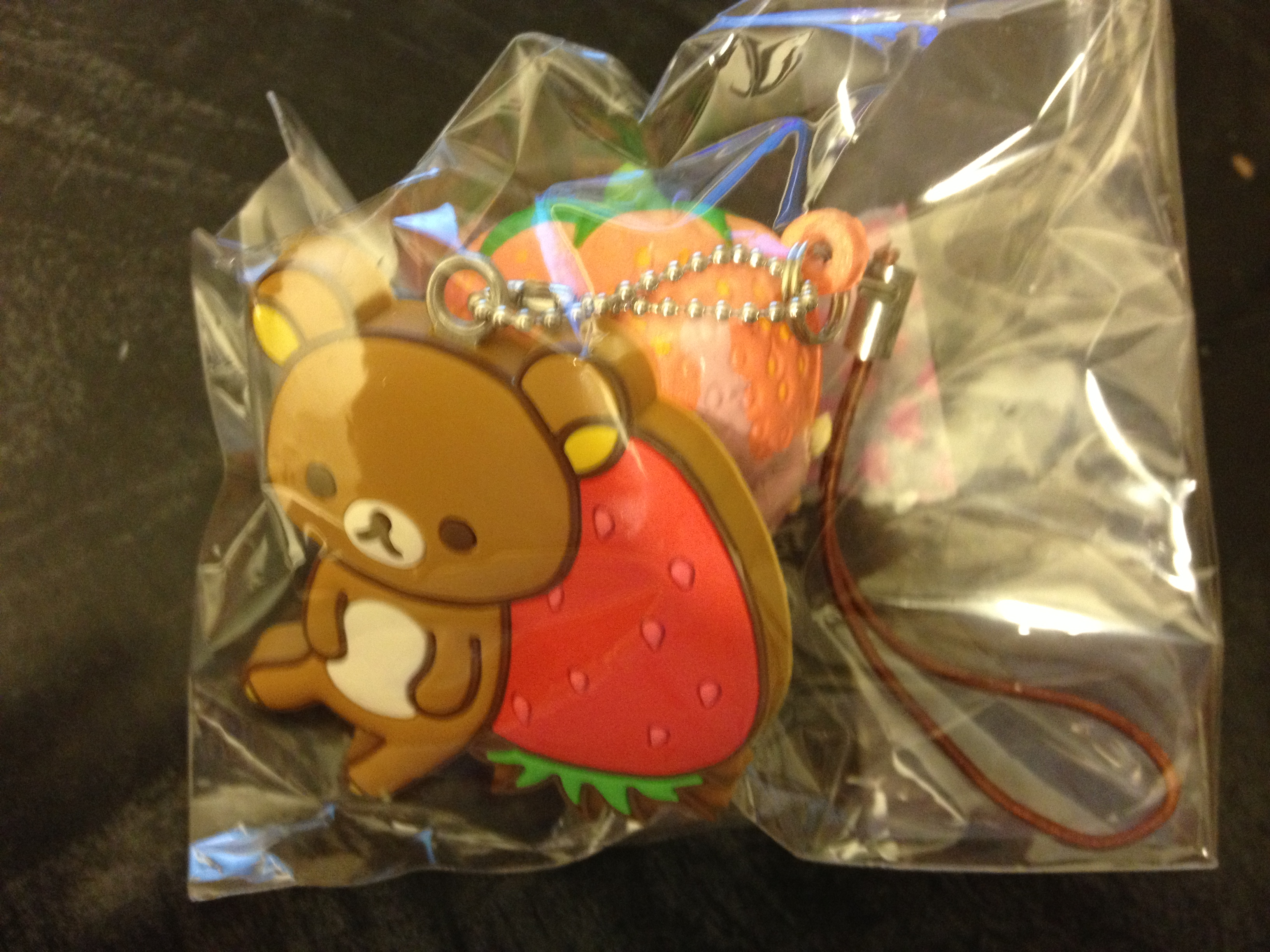 Rilakkuma Tag Squishy (strawberry) ? Minmi s Selection ? Online Store Powered by Storenvy
