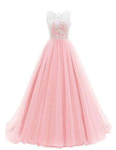 Princess Prom gown, Pink A-line Prom dress, Unique Ball Gown 2016 ...