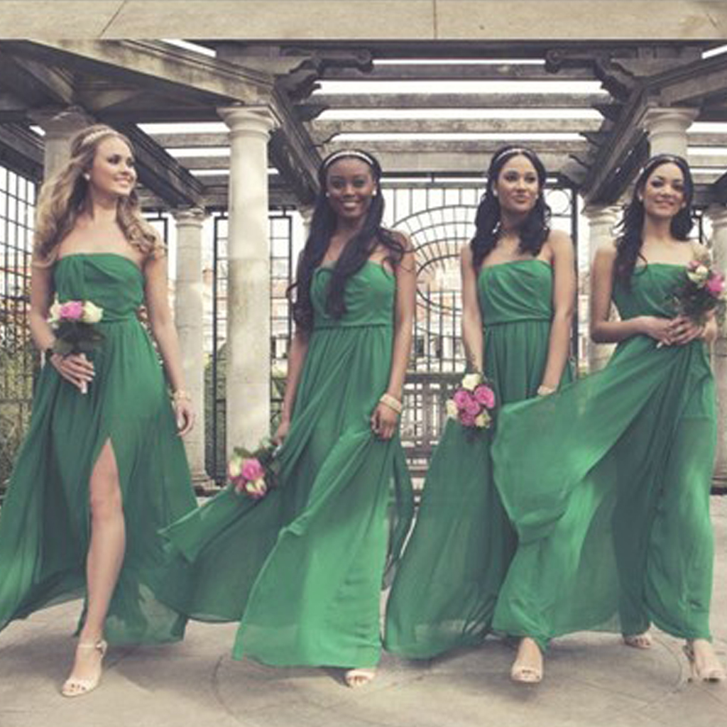 Green bridesmaid dresses straight neck bridesmaid dress floor green bridesmaid dresses straight neck bridesmaid dress floor length bridesmaid dresses chiffon bridesmaid ombrellifo Image collections