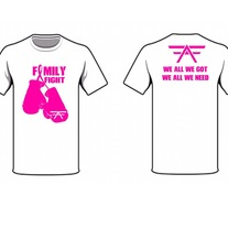 Family Fight Breast Cancer Tee medium photo