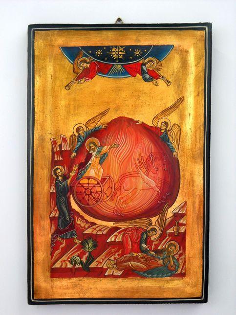 Saint Prophet Elias Russian Byzantin Icon On Storenvy