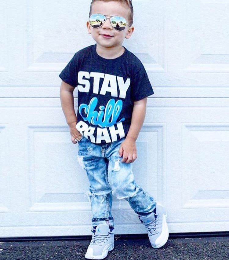 Toddler destroyed skinny jeans