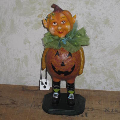 Little Pumpkin Elf Figure