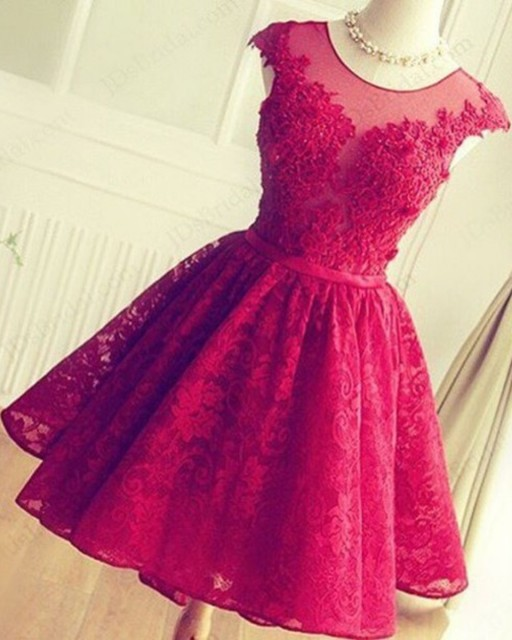 Short Prom Dress Homecoming Dresses Evening Party Gown Formal Wear ...