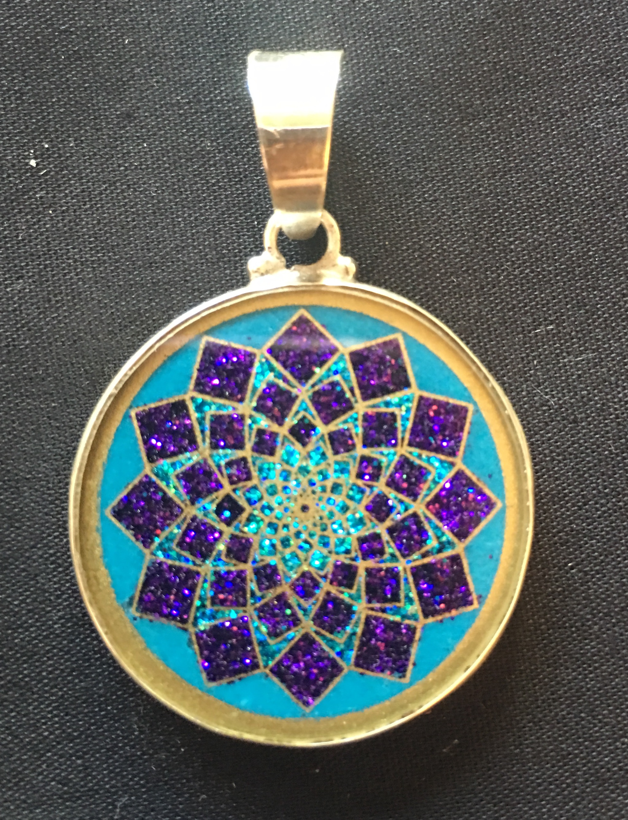 Crown chakra sahasrara sacred geometry pendant rainbows of healing crown chakra sahasrara sacred geometry pendant aloadofball Gallery