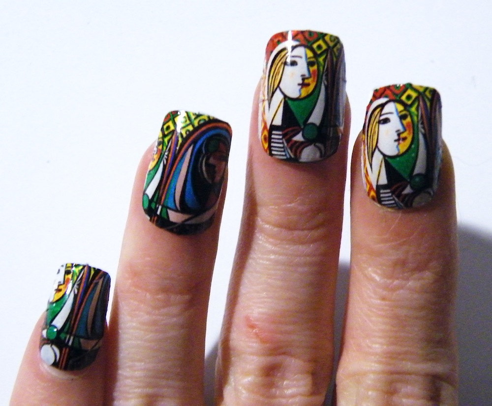 Picasso Nail Polish Art Nails Art History Mani Pedi Abstract Woman