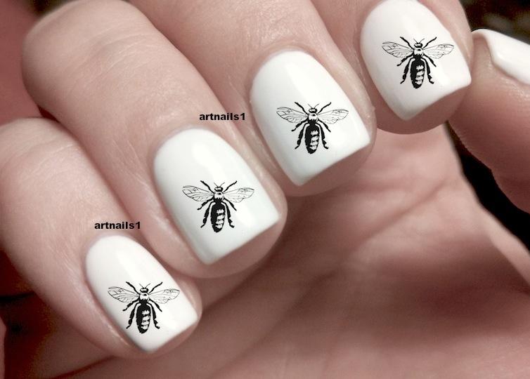 Bee manicure