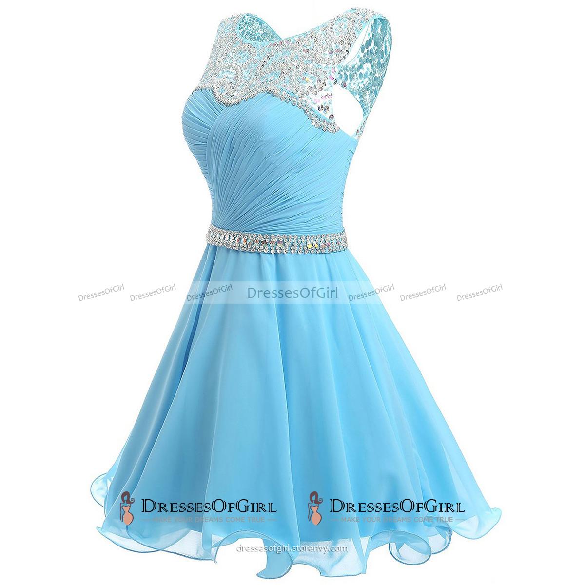 Bateau Neck Beaded Tulle Illusion Prom Dress, Sequined Belt Ivory ...
